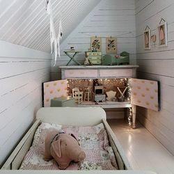 Как сделать кровать для кукольного домика 4
