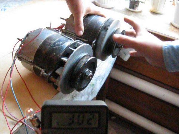 Самодельный ветрогенератор из автомобильного генератора 88