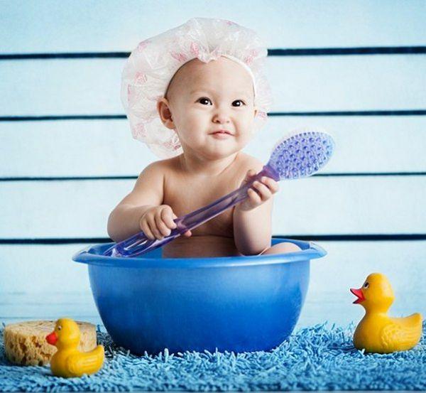 Очищающий эффект детской кожи