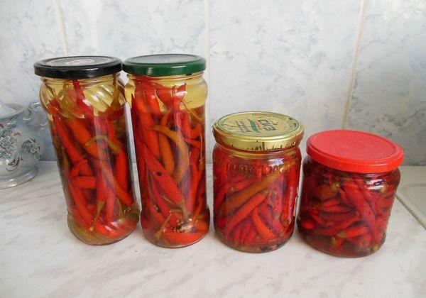 Заготовка перца чили