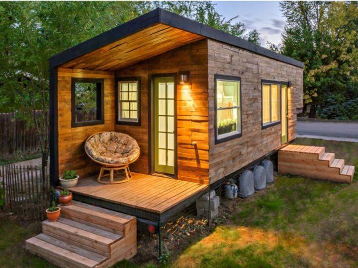 Построить маленький домик для дачи