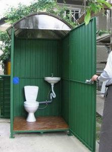 Как и из чего сделать туалет на даче 36