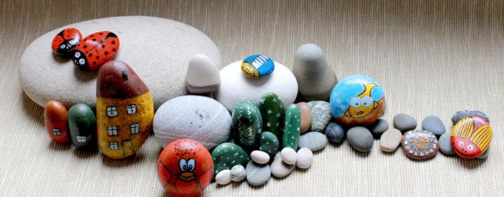 Композиция из камней