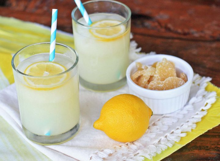 Лимонад из имбиря для похудения