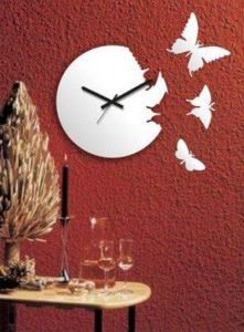 Декоративные часы на стену: креативные идеи