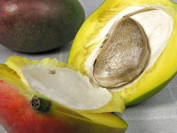 Берем косточку манго