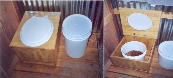 Пудр-клозет (торфяной биотуалет)