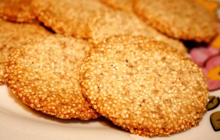 Печенье с амарантом