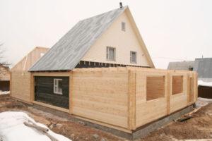 Как сделать пристрой к деревянному дому своими руками