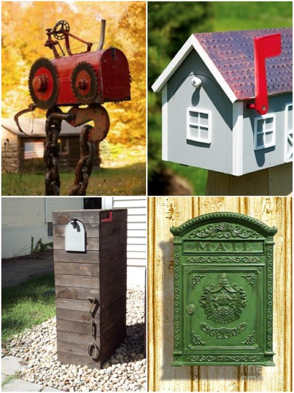 Идеи почтовых ящиков
