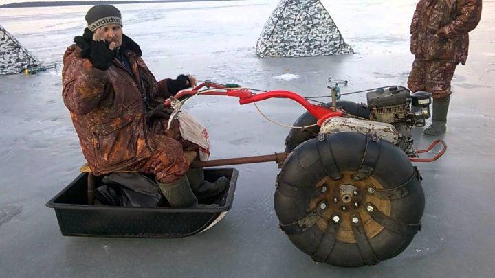 Снегоход из культиватора своими руками фото 456