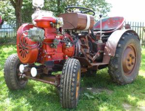 Самодельный трактор своими руками видео фото 575