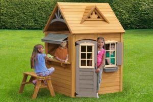 Как сделать детский игровой домик своими руками