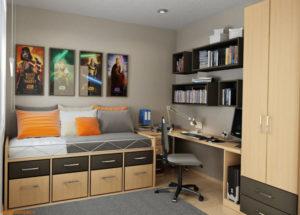 Какой должна быть подростковая комната для мальчика