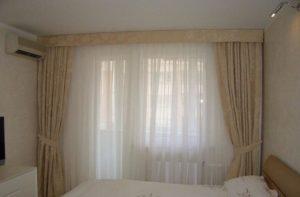 Как выбрать занавески для спальни