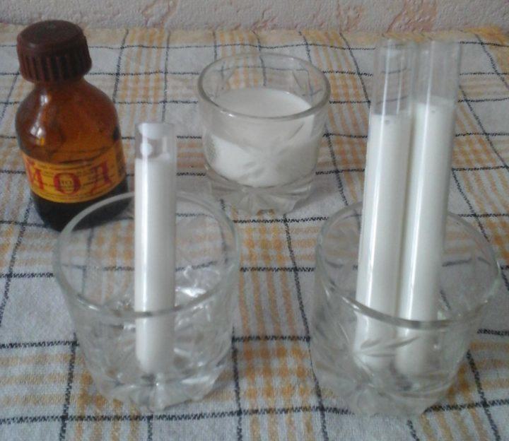 Молоко в пробирке