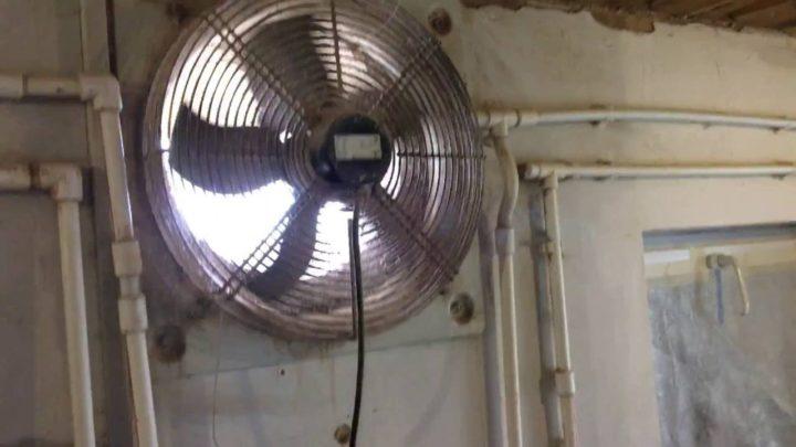 С использованием вентилятора